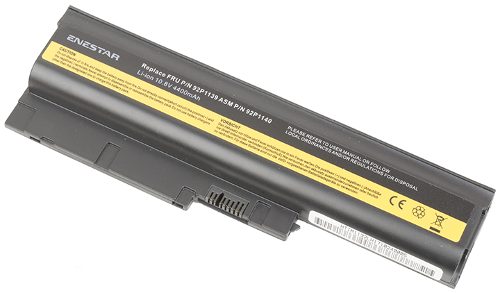 Baterie Enestar C119 4400mAh 10,8V Li-Ion - neoriginální pro Lenovo ThinkPad T500 (4062)