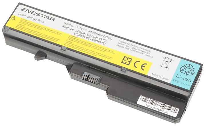 Baterie Enestar C124 4400mAh 10,8V Li-Ion - neoriginální pro Lenovo IdeaPad Z570