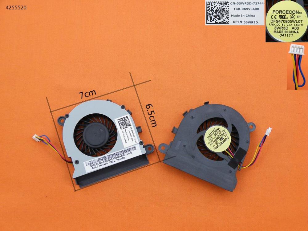 Ventilátor Dell Latitude E5520