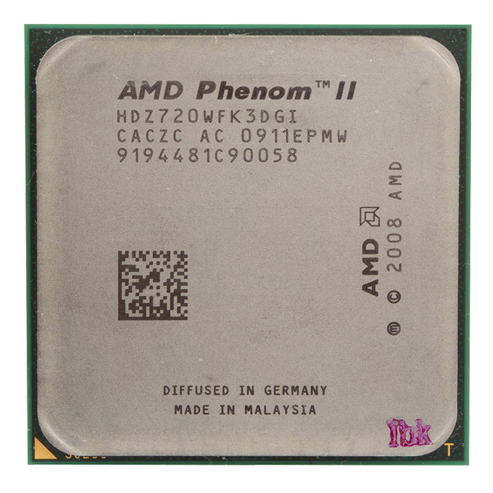 AMD Phenom II X3 720 - Black Edition