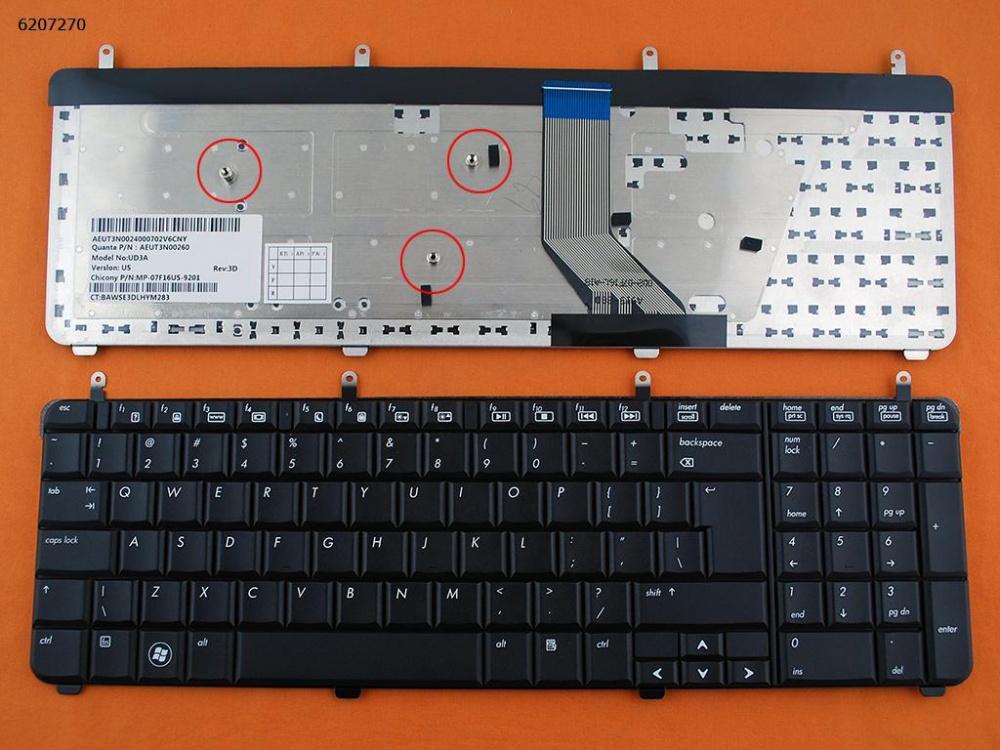 Klávesnice HP Pavilion DV7-3000 series