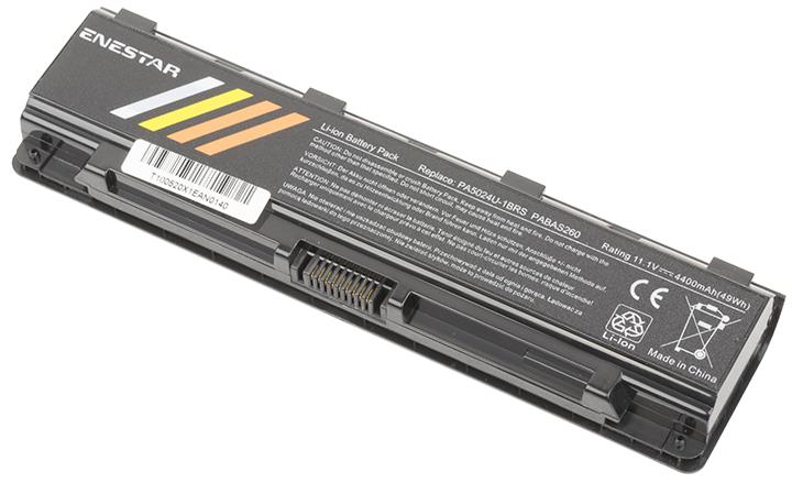 Baterie Enestar C196 4400mAh 10,8V Li-Ion - neoriginální pro Toshiba Satellite C855-22V