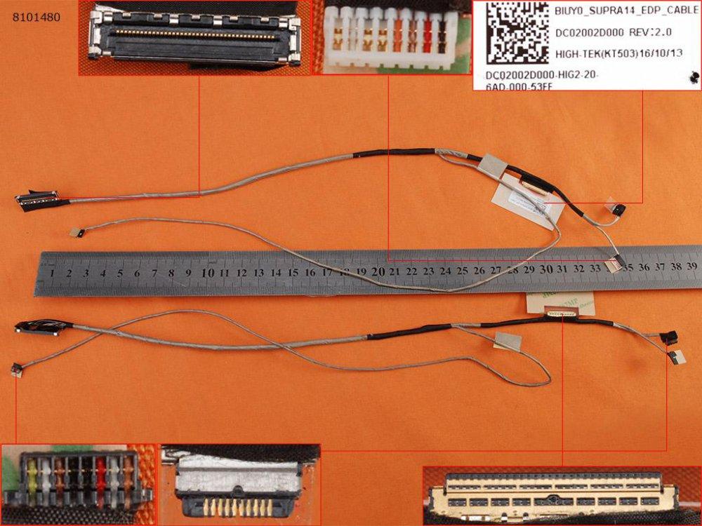 LCD kabel Lenovo IdeaPad Yoga 510-14IKB