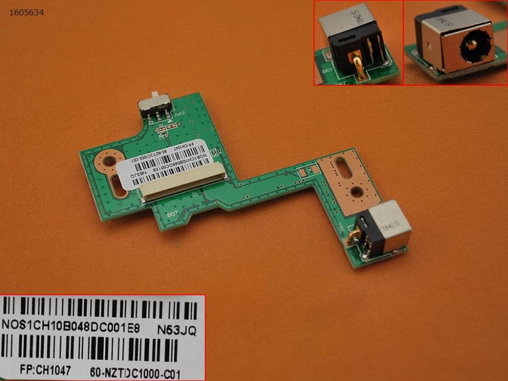 Napájecí konektor ASUS N53SV
