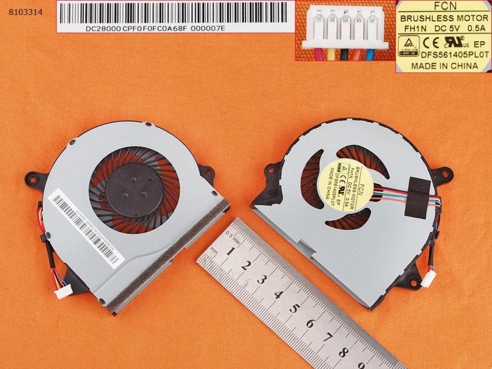 Ventilátor Lenovo IdeaPad 300-15ISK