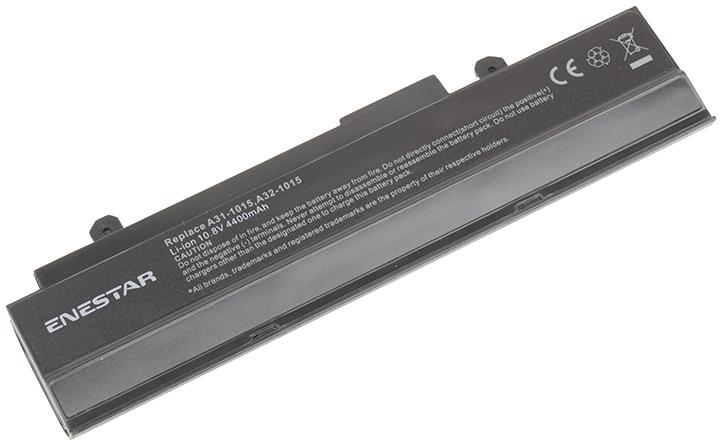 Baterie Enestar C032 4400mAh 10,8V Li-Ion - neoriginální pro Asus Eee-PC 1215T