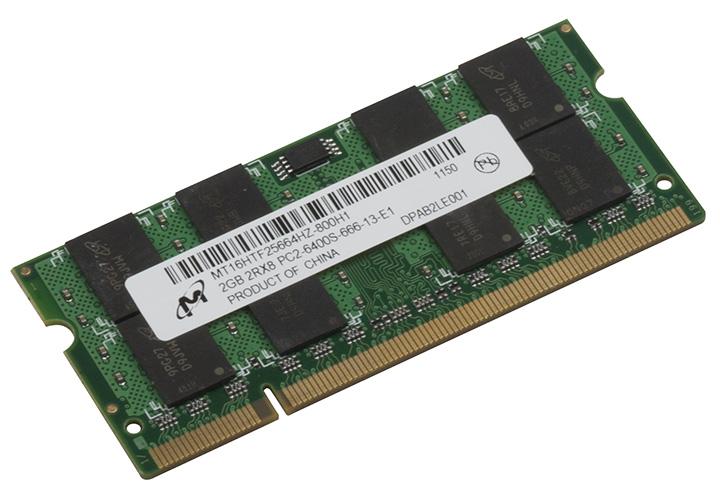 Micron DDR2 2GB 800 MHz MT16HTF25664HY-800J1