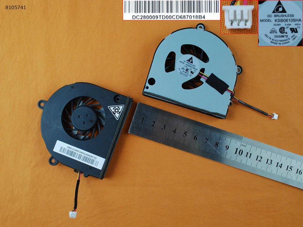 Ventilátor Toshiba Satellite A660