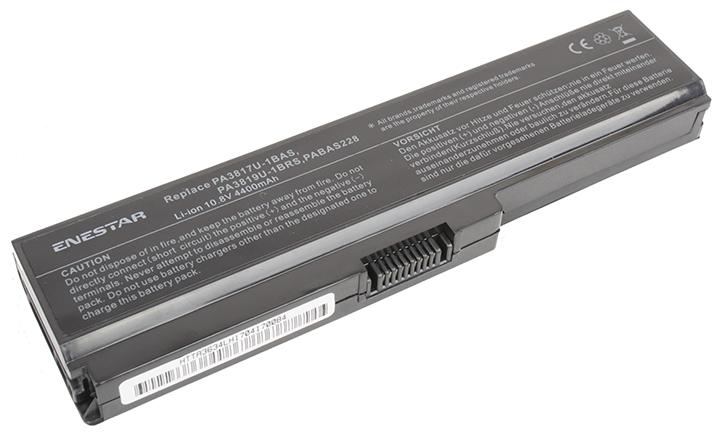 Baterie Enestar C167 4400mAh 10,8V Li-Ion - neoriginální pro Toshiba Satellite L755D-12L