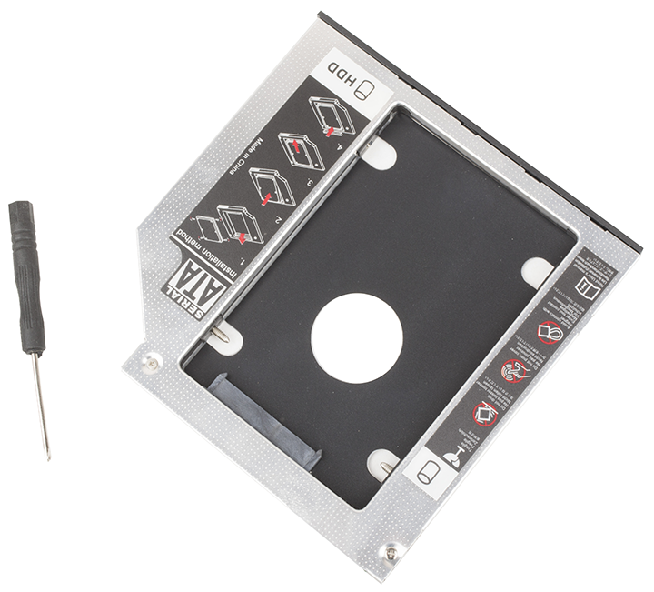 SATA second HDD Caddy 12.7mm
