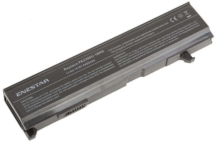 Baterie Enestar C164 4400mAh 10,8V Li-Ion - neoriginální pro Toshiba Satellite A100-310