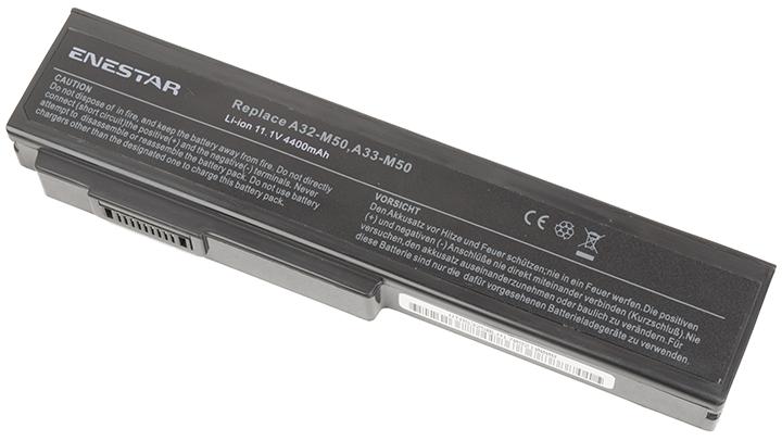Baterie Enestar C046 4400mAh 11,1V Li-Ion - neoriginální pro Asus N53JG
