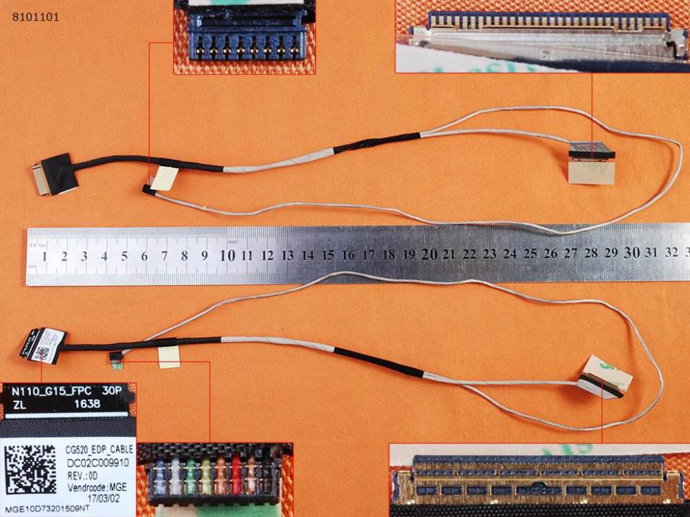 LCD kabel Lenovo IdeaPad 110-15IBR