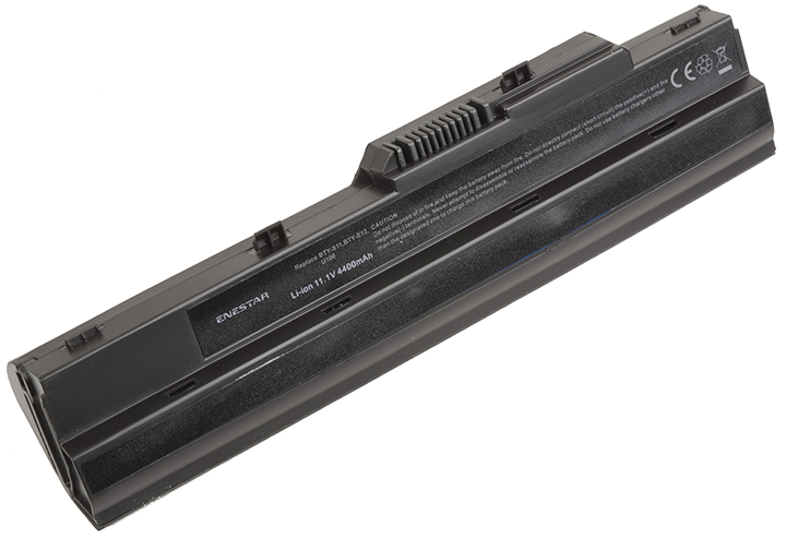 Baterie Enestar C133 4400mAh 11,1V Li-Ion - neoriginální pro MSI Wind U200x-s35